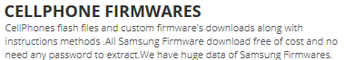 CellPhone Firmwares